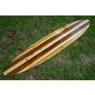 Vintage Pinstripe Classic Natural Wood Grain 6 Foot
